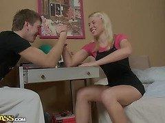 Hard anal sex with cute girlfriend scene 1