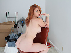 Redhead Lilith Lust gets pussy fucked