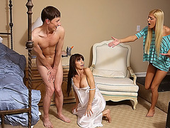 MILF Carmen snatches her daughters bf
