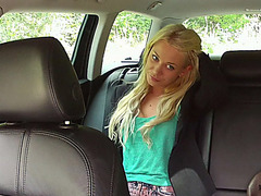 Teen Lindsey gets fucked by the driver