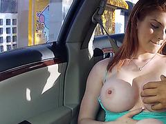 Big tits Rainia gets revenge on her bf