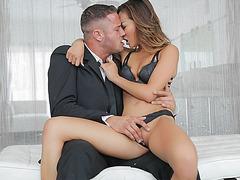 Sweet Alina teases her boyfriend and gets amazing hardcore fucking