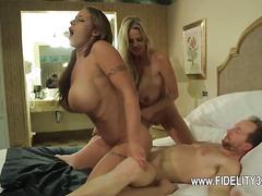 Pornstar fuck in the bar