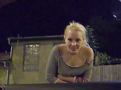 Blonde Lola gets banged by the stranger