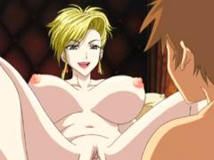 Bigboobs hentai blonde hot riding stiff dick