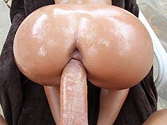 Oiled ass Jada Stevens