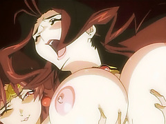 Hentai babe fucked rough by shemale