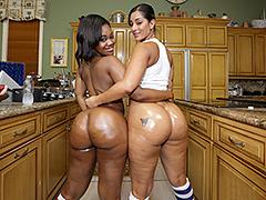Ebony asses