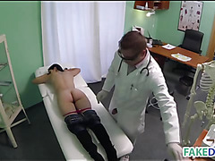 Doctor fucks a wife