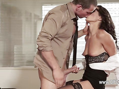Perfect office sex with beautiful beauty