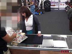Big boobs milf fucked by in the pawnshop