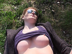 Hot and sexy amateurs gets paid to suck a strangers dick in public