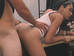 Check out this latina got fucked for money