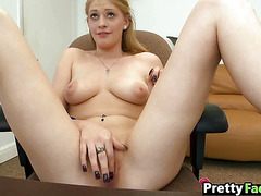 Facial for an 18 year old blonde girl Allie James_1_2.3