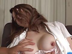 Airi Mizusawa perfect hardcore porn session with toys
