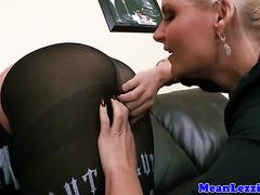 Lezdom Phoenix Marie stapon fucks busty babe