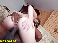 White babe rammed by bbc