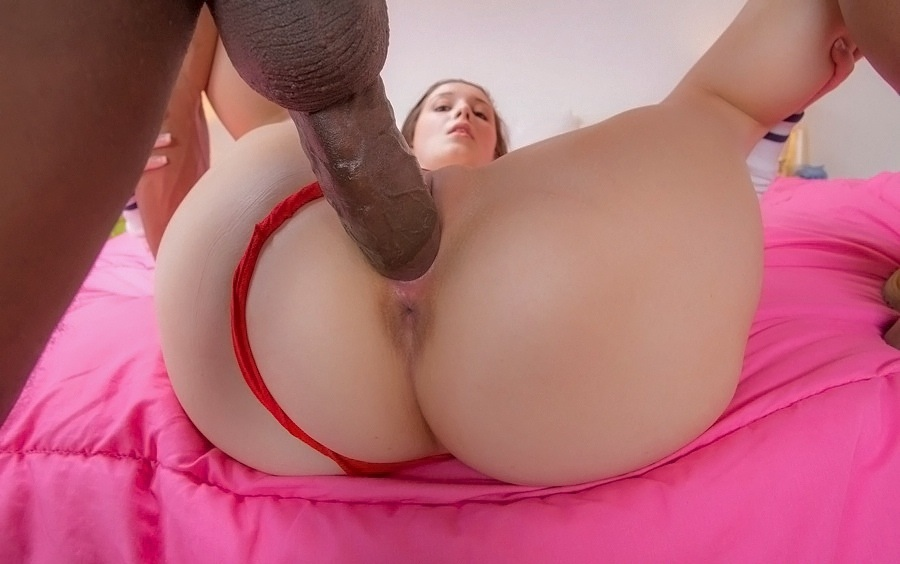 Big black cock for ghetto girl