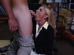 Holly the MILF Gets Serviced