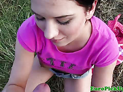 Real public amateur fucked outdoors