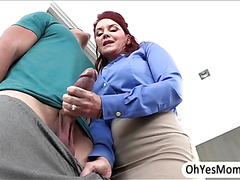 MILF Janet Mason and Teen Alex Tanner gives a sex lesson to a hunk