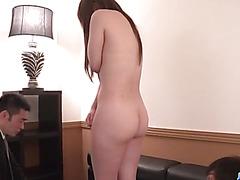 Curvy ass,  Rino Sakuragi, fucked and made to swallow