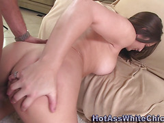 Big butt babe gets fucked