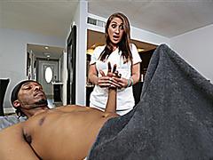 Skyler takes black dick