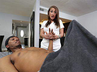 Massage black cock