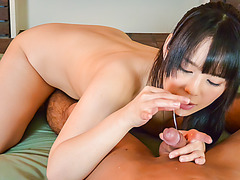 Curvy ass, Ruka Kanae, deals perfect dick in POV show