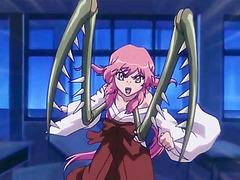 Hentai tentacle girl