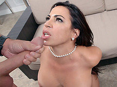 Horny hottie Julianna Vega loves it big