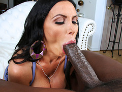 Big black cock for Nikki Benz