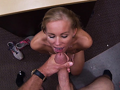 Natalie Gets Fucked Hard By A Big Cock In Office