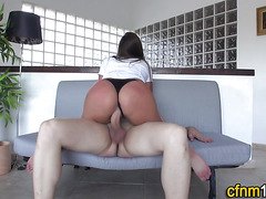 Cfnm amateur creampied