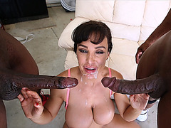 Lisa A Double Penetration Hardcore Interracial