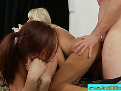 Real stepmom and offspring in threesome