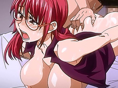Big titted hentai babe