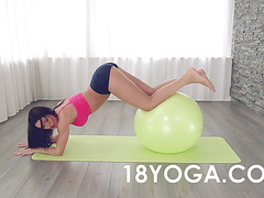 Yoga Teen Kitana Lure Anal Fucked