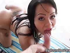 Booty bitch pussy licked