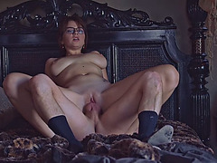 Young wife Marina Visconti hard pounded