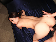 Smashing POV blowjob session with busty Ayami