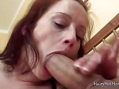 Busty Barbara gives a great head