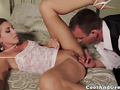 Young bride getting smashed hardcore