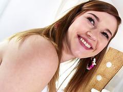Cute teen Alaina Dawson loves huge cock