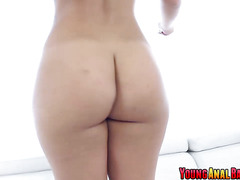 Kelsi Monroe prepares her booty ass for anal fuck