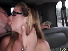Real amateur shows tits