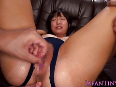 Japanese schoolgirl seduced by some old guy