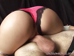 Dominatrix sits on face
