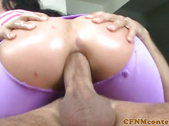 Bigtit CFNM milfs assfucked during group fun